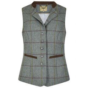 Dubarry Spindle Tweed Waistcoat Sorrel
