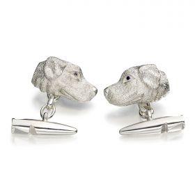 Labrador Cufflinks - Silver