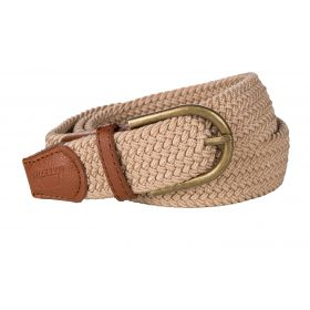 Baleno Stretch Corded Belt Sand