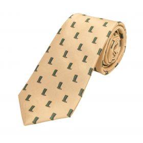 Woven Silk Tie Wellingtons
