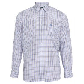 Alan Paine Ilkley Kids Shirt Blue/Beige