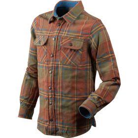 Seeland Kids Nolan Shirt - Rust Check