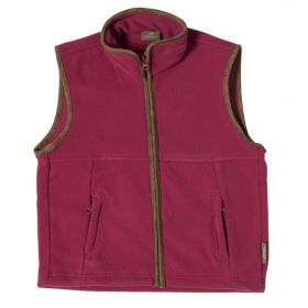 Girls Country Fleece Gilet