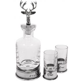 Stag Mini Decanter Set