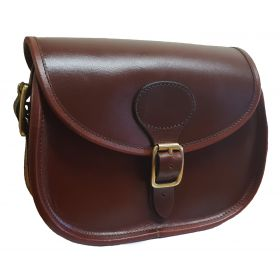 The Hampton Harness Leather Cartridge Bag
