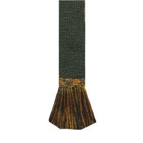Lomond Wool Garters - Spruce Ochre