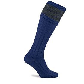 Balfour Shooting Socks - Navy/Olive