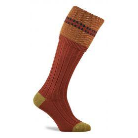 Melbury Shooting Socks - Maple