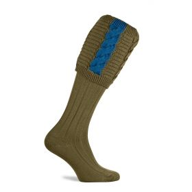 Governor Shooting Socks Old Sage/Blue