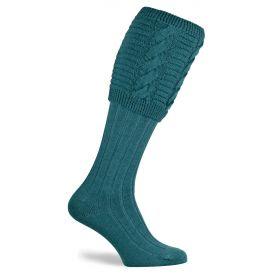 Valiant Shooting Socks Turquoise