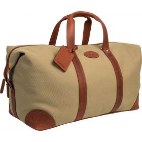 Windsor Leather and Canvas Travel Holdall