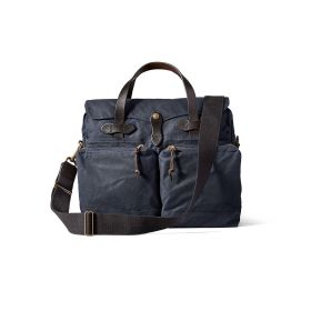 Filson 24 hour Tin Cloth Briefcase - Navy