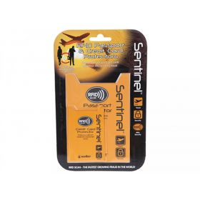 Sentinel RFID Passport & Credit Card Protectors