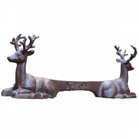 Cast Iron Stag Boot Scraper
