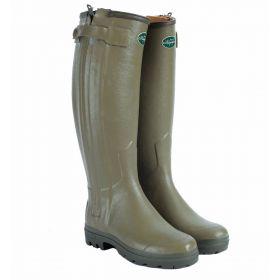 Le Chameau Chasseur Men's Leather Wellington Boots