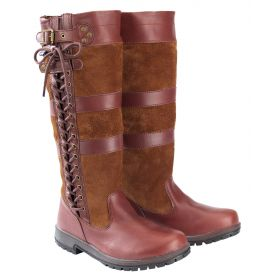 Kanyon Canterbury Leather Lace Up Boots