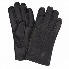 Men's Leather Gloves - Black