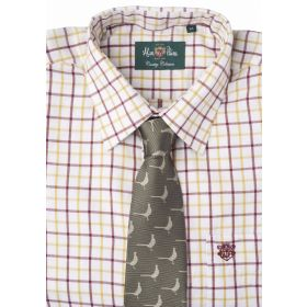 Alan Paine Ilkley Country Shirt - Red