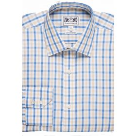 Oxford Classic Shirt - Blue/Sand