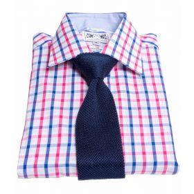 Oxford Classic Shirt - Blue/Pink