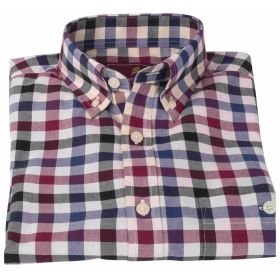 Country Check Shirt - Navy