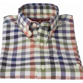 Country Check Shirt - Olive