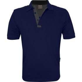 Recoil' Proof Polo Shirts Navy