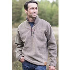 Findon Half Zip Fleece Lined Sweater