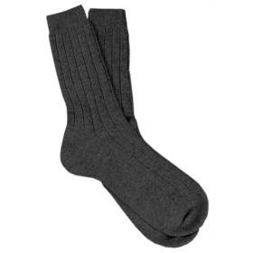 Men's Cashmere Socks Black