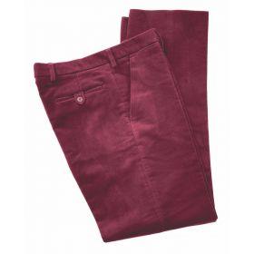 Moleskin Trousers - Claret