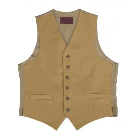 Bepton Moleskin Waistcoat - Gold