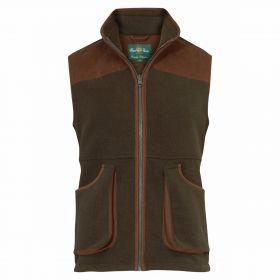 Aylsham Fleece Shooting Waistcoat Green