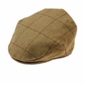 Alan Paine Rutland Tweed Flat Cap