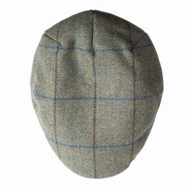 NEW Balmoral Classic Tweed Caps - Blue