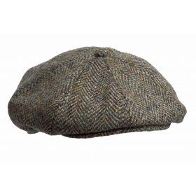 Harris Tweed 8 Piece Cap