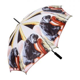 Sleeping Lab Folding Umbrella