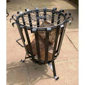 Solid Steel Garden Brazier