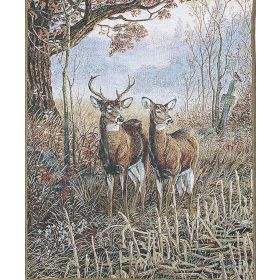 Woodland Deer Wall Tapestry
