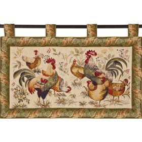 Country Hen Wall Tapestry