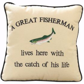 Cushion A Great Fisherman