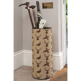 Highland Pheasant & Stag Umbrella Stand (Sent Separately)