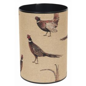 Country Pheasants Waste Paper Bin