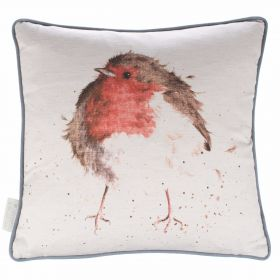 Country Cushion Jolly Robin