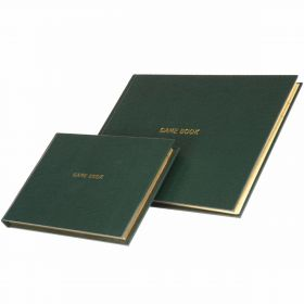 Shooting Game Journal & Record Book - Green