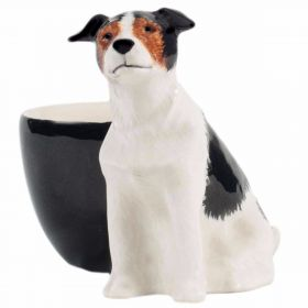 Jack Russell Egg Cup - Tri