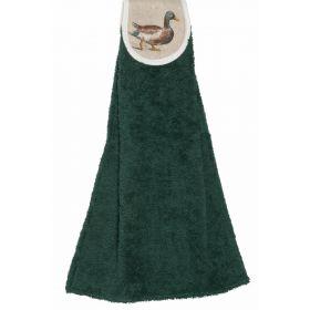 Hanging Towel Ducks - Green