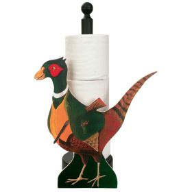Pheasant Kitchen & Loo Roll Holders