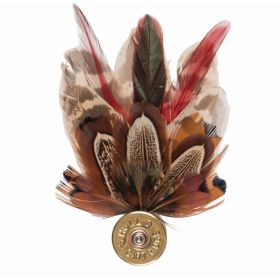 Feather Pin - Red