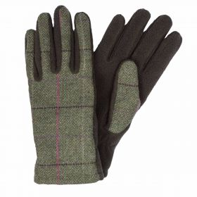 Calendoina Ladies Tweed and Fleece Gloves