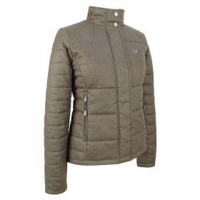 Ladies Elgin Quilted herringbone Jacket